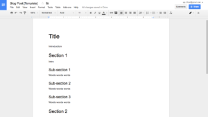 How To Create Effective Document Templates Regarding Google Word Document Templates