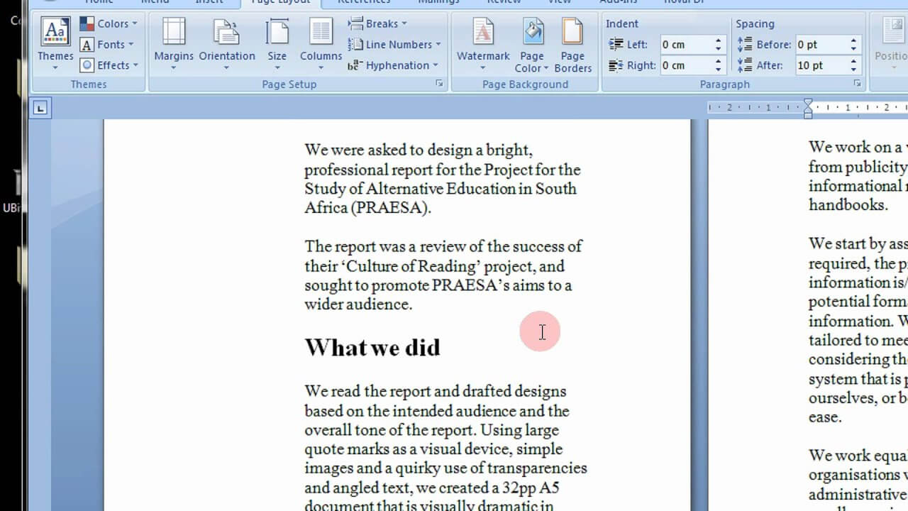 How To Create Printable Booklets In Microsoft Word 2007 & 2010 Stepstep  Tutorial Within Booklet Template Microsoft Word 2007