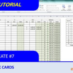 How To Create Simple Stock Card And Calculate Balance With Purchase Price  Variation Regarding Bin Card Template