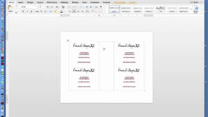 How To Create Two Page Flyer In Ms Office Word Document Regarding Quarter Sheet Flyer Template Word