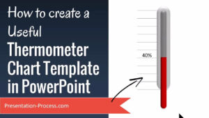 How To Create Useful Thermometer Chart Template In Powerpoint pertaining to Powerpoint Thermometer Template