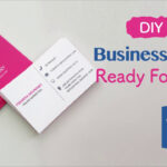 How To Create Your Business Cards In Word – Professional And Print Ready In  4 Easy Steps! With 2 Sided Business Card Template Word