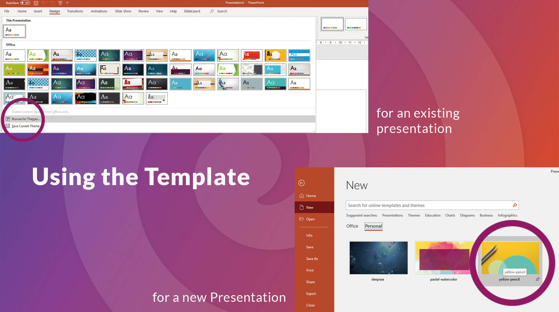 How To Create Your Own Powerpoint Template (2019) | Slidelizard Intended For Where Are Powerpoint Templates Stored