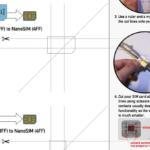 Sim Card Cutter Template