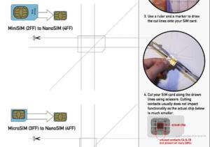How To Cut A Standard Sim To Nano Sim | Bgr India with regard to Sim Card Cutter Template
