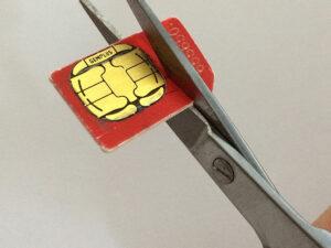 How To Cut Down A Sim Card: Make A Free Nano-Sim For Iphone regarding Sim Card Cutter Template