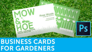 How To Design A Business Card For Gardeners | Solopress for Gardening Business Cards Templates