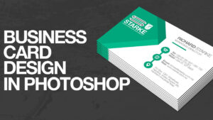 How To Design A Business Card In Photoshop within Create Business Card Template Photoshop