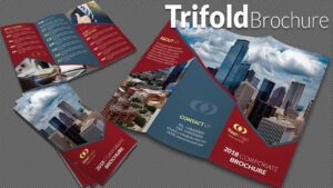 How To Design A Trifold Brochure In Adobe Illustrator Cc 2019 intended for Adobe Tri Fold Brochure Template