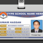 How To Design Id Card In Photoshop + Psd Free Download In Photographer Id Card Template
