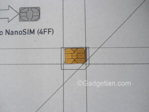 How To Easily Convert Or Cut Sim Card To Nano Sim For Iphone with Sim Card Cutter Template
