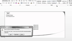 How To Format Envelopes On Microsoft Word : Using Microsoft Word for Word 2013 Envelope Template
