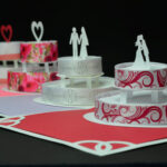 How To Make A Birthday Cake Or Wedding Cake Pop Up Card In Wedding Pop Up Card Template Free