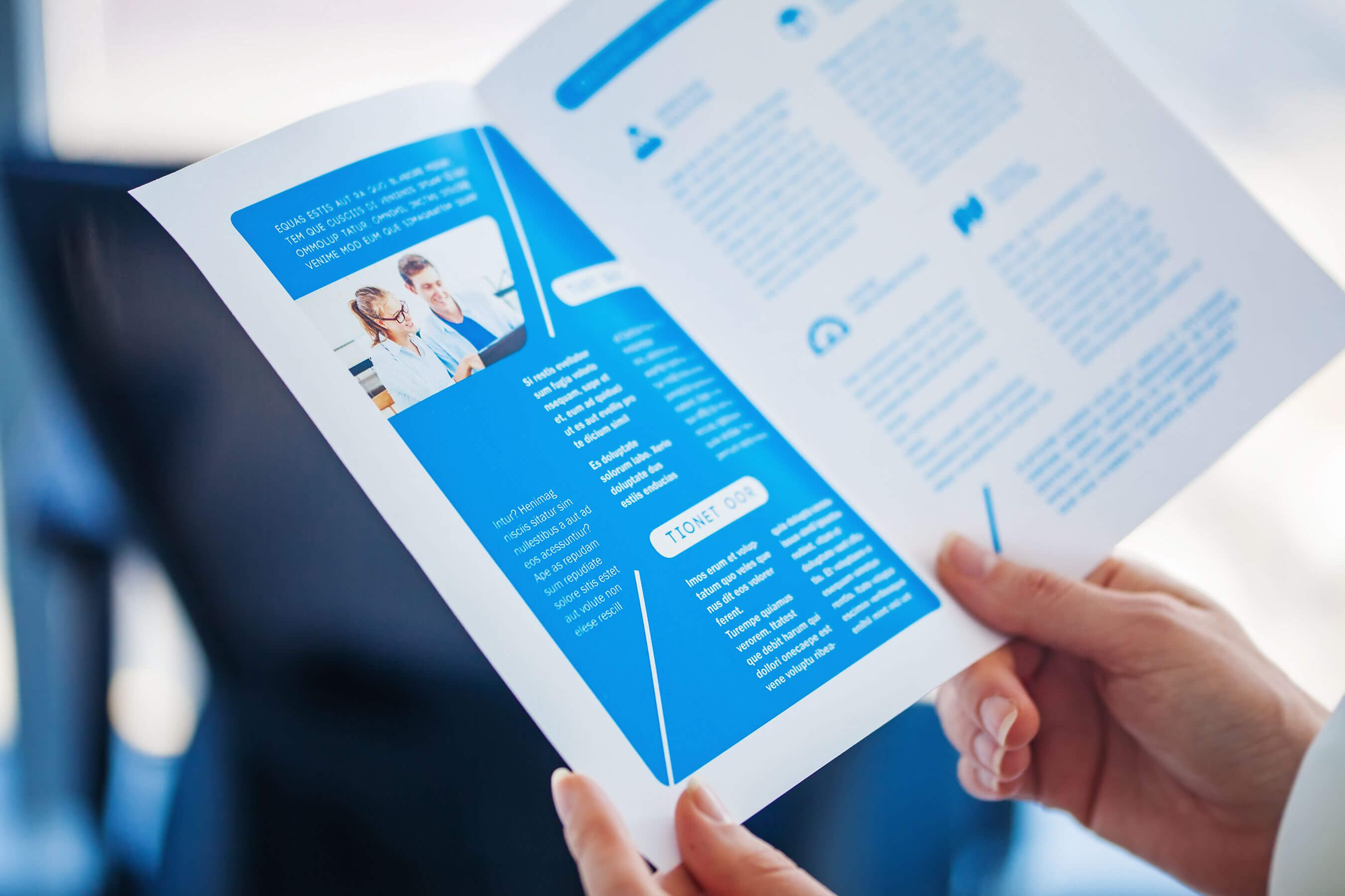 How To Make A Brochure On Microsoft Word With Word 2013 Brochure Template