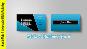 How To Make A Business Card In Photoshop with Business Card Template Photoshop Cs6