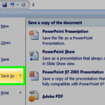 How To Make A Powerpoint Template: 12 Steps (With Pictures) Regarding How To Save Powerpoint Template