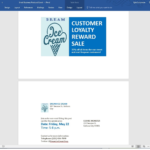 How To Make Postcards In Word – Creditdonkey With Postcard Size Template Word
