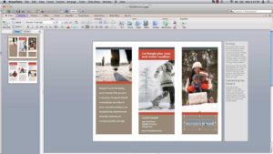How To Make Powerpoint Brochure inside Medical Office Brochure Templates