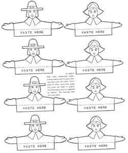 How To Make Thanksgiving Place Cards – Kids Crafts for Thanksgiving Place Cards Template