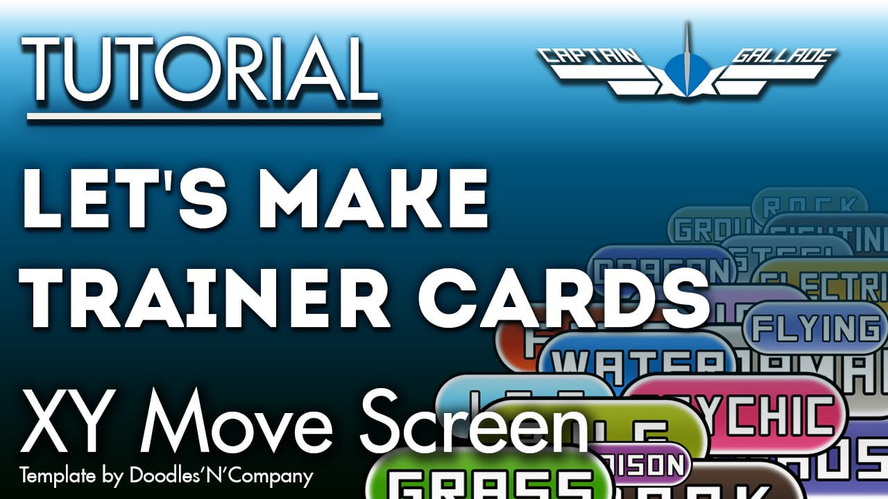 How To Make Trainer Cards   Tutorial   Xy Movescreen Throughout Pokemon Trainer Card Template