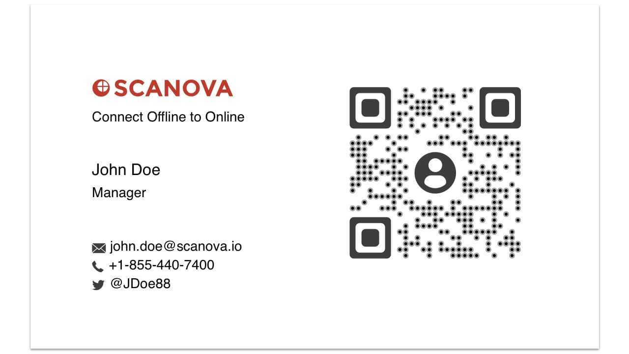 How To Make Your Business Card Better With Qr Codes with Qr Code Business Card Template