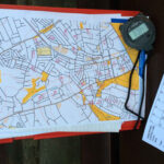 How To Plan A Street O Event   Claro Orienteering Pertaining To Orienteering Control Card Template