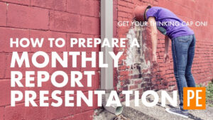 How To Prepare A Monthly Report Presentation with regard to Monthly Report Template Ppt