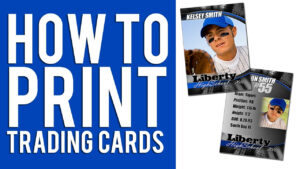 How To Print Custom Trading Cards Tutorial intended for Custom Baseball Cards Template