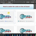 How To Print Double Sided Business Card In Adobe Illustrator With Double Sided Business Card Template Illustrator