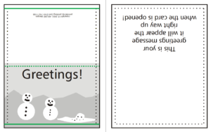 How To Supply Greeting/christmas Cards | W3Pedia pertaining to Indesign Birthday Card Template