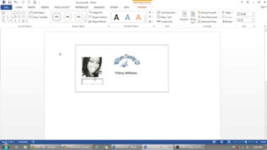 How To Use Microsoft Word To Make Id Badges in Visitor Badge Template Word