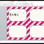 How To Work With Editable Task Card Templates For Task Cards Template