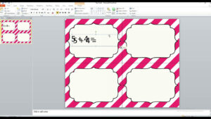 How To Work With Editable Task Card Templates intended for Task Card Template