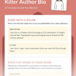 How To Write A Memorable Author Bio (With Template) Intended For Bio Card Template