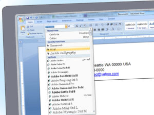 How To Write A Resume Using Microsoft Word 2010 ~ Curbshoppe throughout How To Use Templates In Word 2010