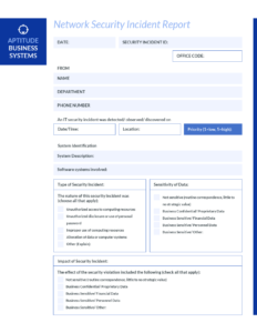 How To Write An Effective Incident Report [Incident Report inside Incident Report Log Template
