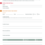 How To Write An Effective Incident Report [Incident Report Intended For Serious Incident Report Template