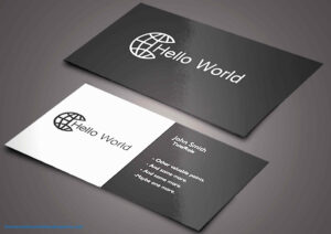 Hvac Business Card Templates Tech Professional Samples Thank within Hvac Business Card Template