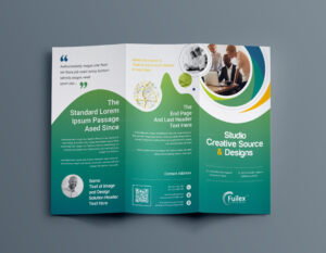 Hypnosis Professional Tri-Fold Brochure Template 001203 with regard to Brochure 3 Fold Template Psd