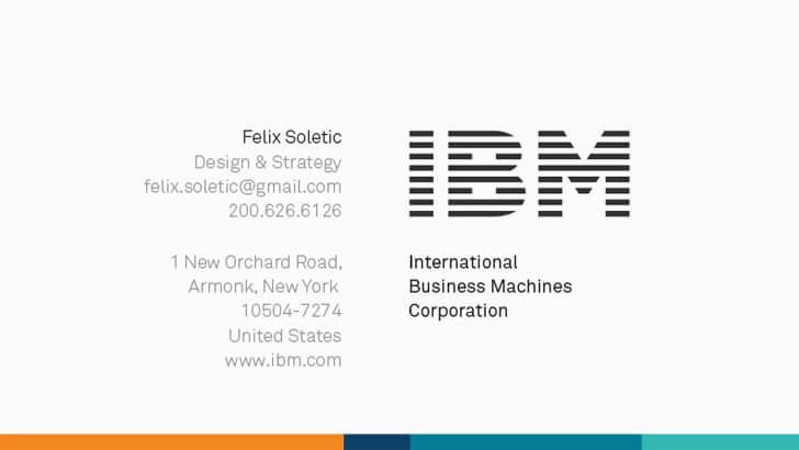 Ibm Business Card Template - Business Card For Ibm Business Card Template