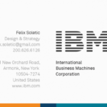 Ibm Business Card Template - Business Card with regard to Ibm Business Card Template