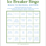 Ice Breaker Bingo: Back To School Version – Flanders Family With Regard To Ice Breaker Bingo Card Template