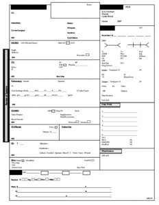 Icu Nursing Report Sheet Template for Nursing Handoff Report Template