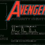 Id Card Template   Avengers Pr…   Diy/kids: Id Cards ( You Inside Superhero Trading Card Template