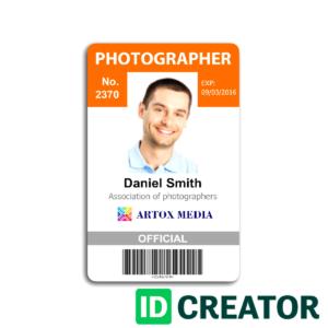 Id Card Template Coreldraw – Bushveld Lab pertaining to Media Id Card Templates
