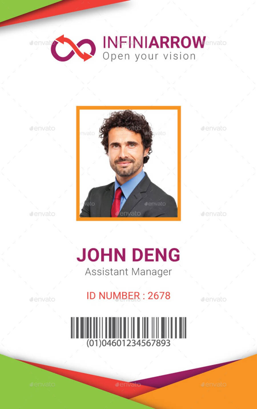 Id Card Template | Madinbelgrade In Sample Of Id Card Template