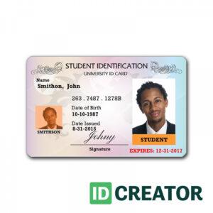 Id Card Template | Madinbelgrade inside Sample Of Id Card Template