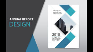 Illustrator Tutorial : How To Design Brochure, Annual Report Cover + Free  Download with Illustrator Report Templates