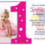 Image For Princess 1St Birthday Invitations | Akshara within First Birthday Invitation Card Template