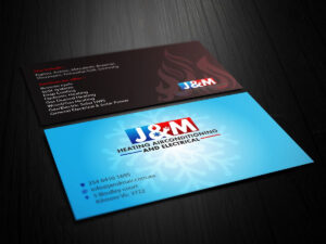 Image Result For Business Card Ideas For Hvac And Electrical for Hvac Business Card Template